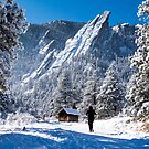 Flatirons Runner by Gregory J Summers