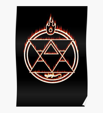 The Flame Alchemist Poster