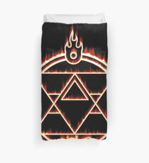 The Flame Alchemist Duvet Cover