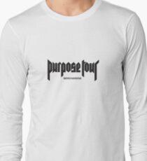 Purpose Tour 2016 Long Sleeve T-Shirt