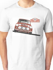 1965 Rallye Monte Carlo winner Unisex T-Shirt