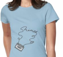 SHINee cassette tape writing Womens Fitted T-Shirt