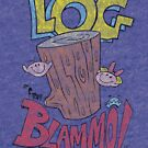Log by Blammo (Retro Distressed Look). by Winxamitosis