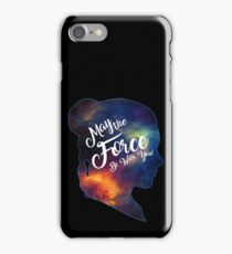 May the Force be With You - Carrie Fisher -Princess Leia Tribute Shirt iPhone Case/Skin