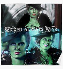 Wicked Always Wins - Zelena  Poster
