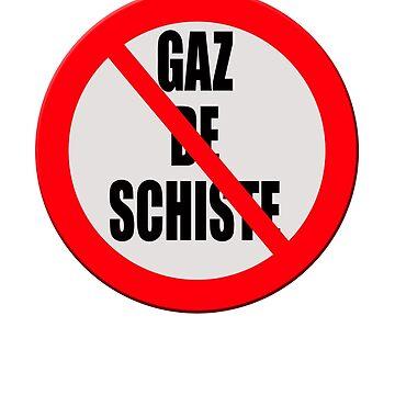 """Contra """"Gaz de Schiste"""" by stuwdamdorp"""