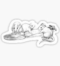 Rattus Lab Sticker