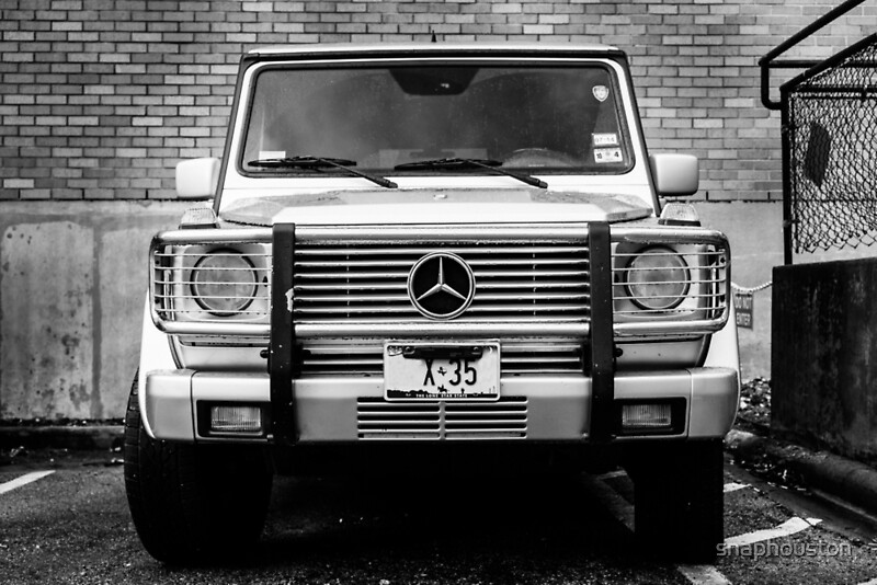 mercedes g class wagon posters by snaphouston redbubble. Black Bedroom Furniture Sets. Home Design Ideas