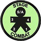 Stage Combat Geek Merit Badge by storiedthreads