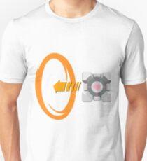 Orange portal love T-Shirt