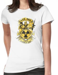Kick Ass and Chew Bubble Gum! Womens Fitted T-Shirt