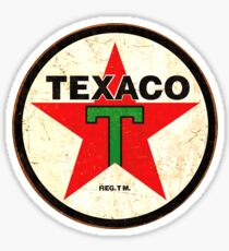 Texaco Vintage Logo Sticker