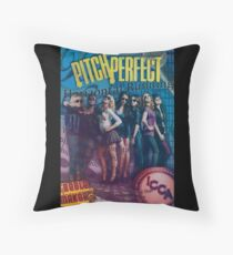 Pitch Perfect Collage Throw Pillow