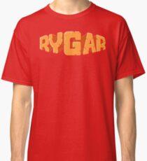 Camiseta clásica Rygar (pantalla de título de NES)