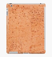 Brown cork mottled sheet texture iPad Case/Skin