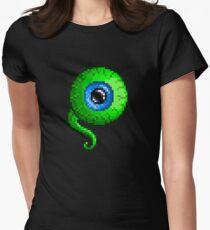 Jacksepticeye Pixel art logo - SepticeyeSam Women's Fitted T-Shirt