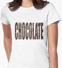 Chocolate chocolate Women's Fitted T-Shirt