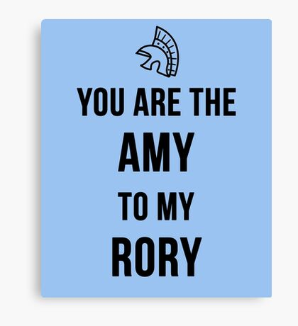 Amy+Rory Canvas Print