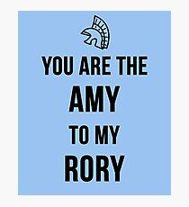 Amy+Rory Photographic Print