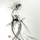 Japanese samurai bushido code, katana artwork by Mariusz Szmerdt