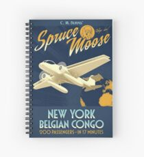 The Simpsons - Spruce Moose  Spiral Notebook