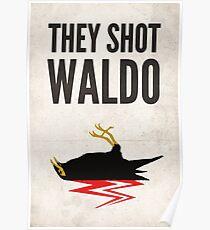 Twin Peaks, They Shot Waldo Poster
