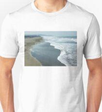 San Francisco Fog - Ocean Beach Layers, Textures and Forms T-Shirt