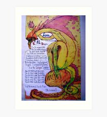 The Dragon. ;-  Chinese Horoscopes, Your Year. Art Print
