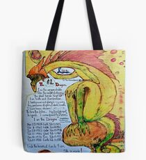 The Dragon. ;-  Chinese Horoscopes, Your Year. Tote Bag