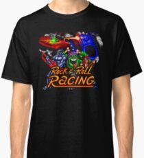 Rock n' Roll Racing (SNES Title Screen) Classic T-Shirt