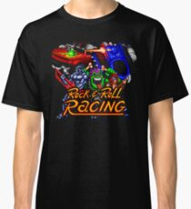 Rock n' Roll Racing (SNES Title Screen) Classic T-Shirt
