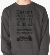 Detroit Is My Home - Black Edition T-Shirt
