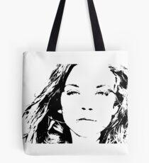 High Contrast Natalie Dormer Tote Bag