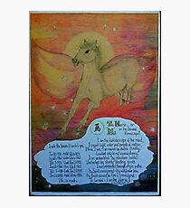 the horse, ;- chinese horoscopes, your year Photographic Print