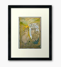 The Sheep.;- Chinese Horoscopes, Your Year. Framed Print