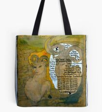 The Sheep.;- Chinese Horoscopes, Your Year. Tote Bag