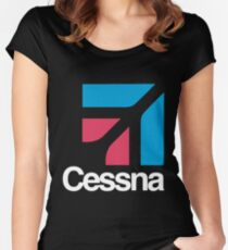 Cessna Women's Fitted Scoop T-Shirt