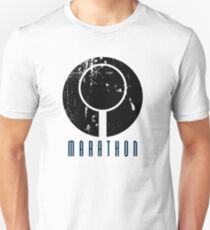 Marathon Symbol II - Black T-Shirt
