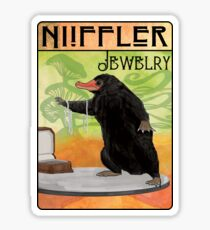 Niffler Jewelry Sticker