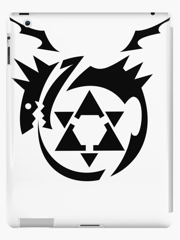 Black Homunculus Symbol Fullmetal Alchemist Ipad Cases Skins By