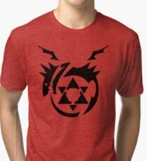 Black Homunculus Symbol Fullmetal Alchemist Tri-blend T-Shirt