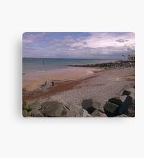 Sheringham Costal View  Canvas Print