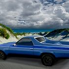 1973 El Camino in the Dunes by ChasSinklier