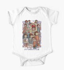 Ghibli's Angels One Piece - Short Sleeve