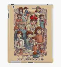Ghibli's Angels iPad Case/Skin