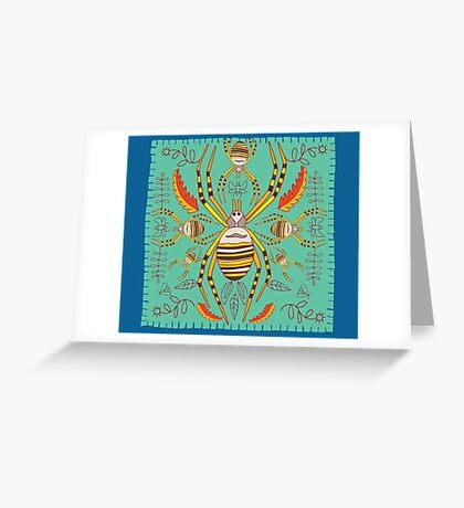 spiderart 1 Greeting Card