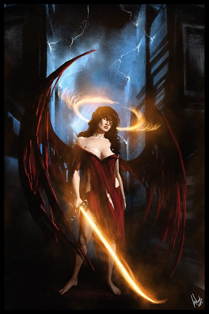 Angel of Tatters 001 by Ian Sokoliwski