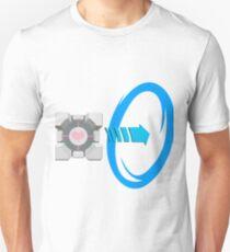 Blue portal love T-Shirt