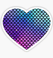 Holographic Mermaid Scales Sticker