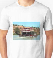 Just cruisin': houseboat, Murray River, South Australia 2 T-Shirt